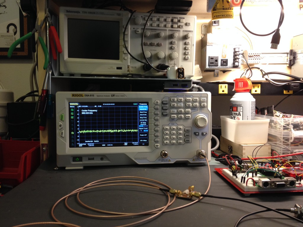 My new Toy! The Rigol DSA 815 Spectrum Analyzer